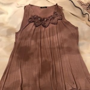 Tops - Taupe color tank
